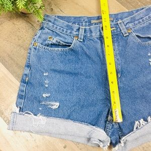 Pants - 6 High Waisted Jean Shorts distressed